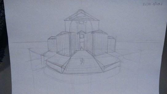 Gianni's Roman sketch