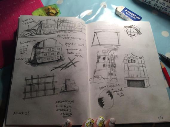 Building sketches