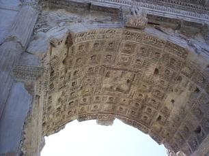 Arc of Titus (detail)