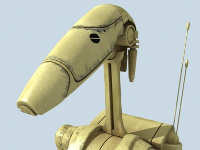 R1 Battle Droid. (Creativecrash.com, 2016).